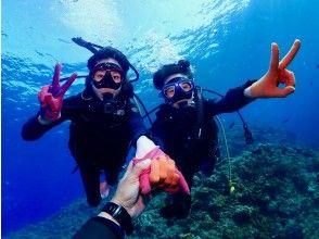 プランの魅力 这是初学者的潜水商店,所以对于初学者和不会游泳的人来说都是安全的♪ の画像