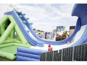 【Odaiba dream can also play on the continent! 】 Unlimited game play at noon ★ Odaiba water park by Huisten Bosch attraction image