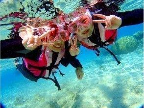プランの魅力 水中顔写真も挑戦 の画像
