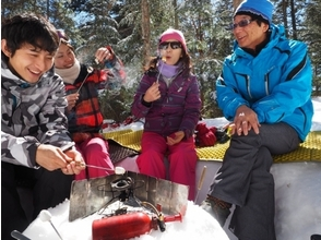 【山梨・北八ヶ岳】雪に覆われた大自然の中を散策!スノーシューツアー(1日コース)の魅力の説明画像