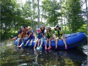 From Hokkaido Niseko] leisurely rafting tour ♪ 0-year-old charm of participation OK description image