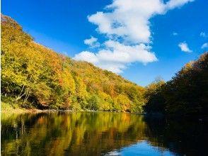 プランの魅力 カエデやイチョウの葉が色づきはじめ 湖面や川面がキラキラ光り輝きます★ の画像