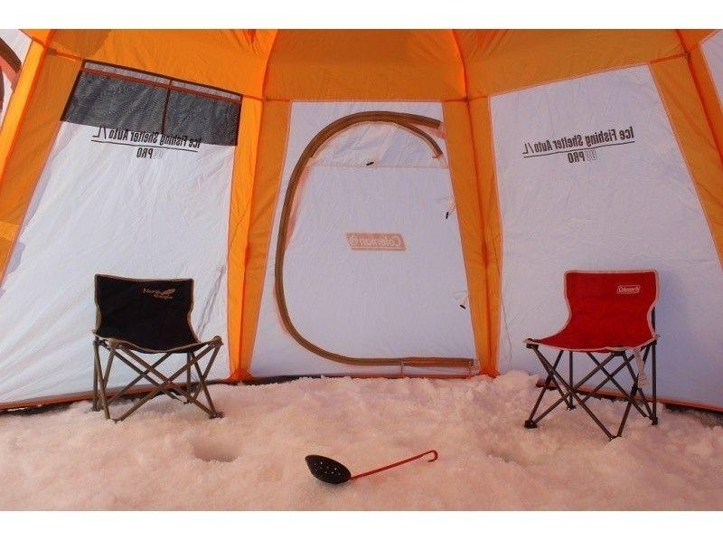 プランの魅力 寒さもテントで安心 の画像