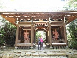 プランの魅力 宮島弥山仁王門の前で の画像