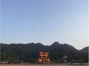 プランの魅力 厳島神社大鳥居と山々 の画像