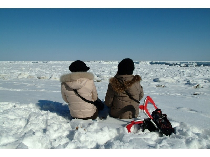 プランの魅力 流氷を目の前にティータイム。 とても贅沢な時間です。 の画像