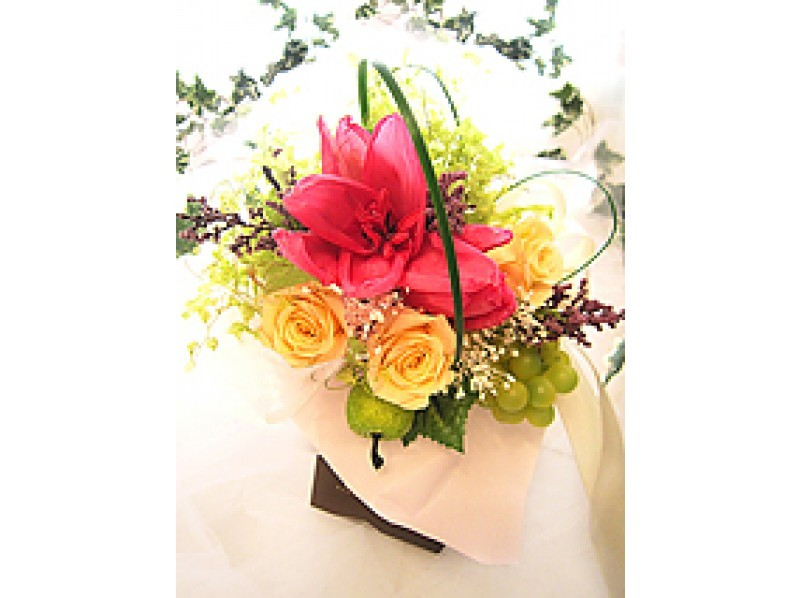 Kanagawa · Yokohama】 Preserved Flower ☆ Parisian Mini Bouquet ...