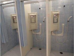 プランの魅力 ★ Beautiful shower room & changing room & powder room are very popular with women ♪ ★ You can go sightseeing immediately after finishing! の画像