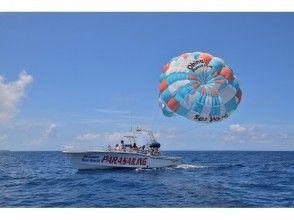 プランの魅力 大型のパラセーリングボート。 の画像
