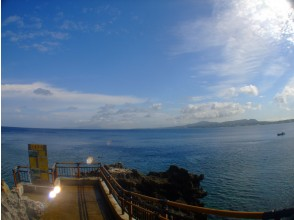 プランの魅力 真栄田岬名物の階段 の画像