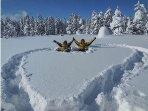 【北海道・大雪山】絶景スノーシュー★旭岳・天人峡・カモ沼・ワサビ沼コースの魅力の説明画像