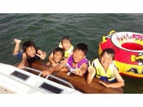 プランの魅力 With additional options, we also enjoy the banana boat and tubes. の画像