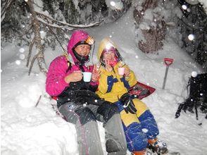 【北海道・大雪山】絶景スノーシュー★旭岳・天人峡、星空の旭岳原生林ナイトコースの魅力の説明画像