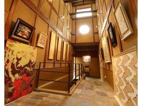 プランの魅力 You can also see Nishikori's works (gallery) の画像