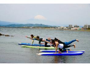 プランの魅力 如果天气晴朗,您可以一边欣赏富士山美景,一边练习瑜伽。 の画像