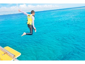 プランの魅力 船には珍しいジャンプ台付き! の画像