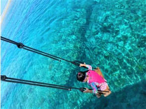 プランの魅力 絶対に他にはない、海上ブランコ! の画像