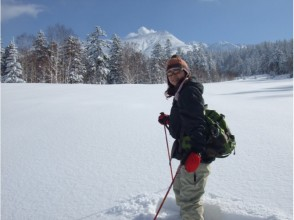 [Hokkaido Tokachi] happy Onsen ♪ snowshoeing experience! Charm of description image of (half-day course)