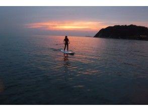 プランの魅力 梦幻般的日落之后的大海 の画像