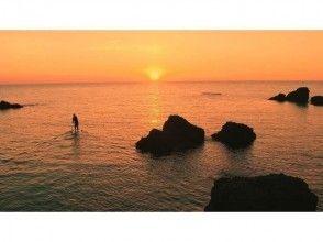 プランの魅力 日本海に沈む夕日 の画像