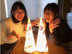 プランの魅力 Japanese paper light = healing light の画像