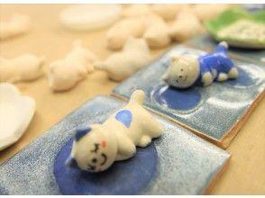 プランの魅力 Cat chopstick rest is a painting experience ☆ の画像