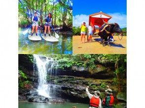 プランの魅力 A new island trip ~ Mangrove SUP (SUP) Unexplored waterfall tour & Yubu Island sightseeing の画像