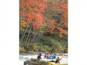 【北海道・十勝川】ラフティング・半日コース(Wラフティング)の魅力の説明画像