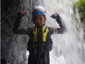 プランの魅力 滝の中にも入れるかも!? の画像