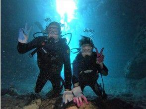 プランの魅力 海中での記念撮影 の画像