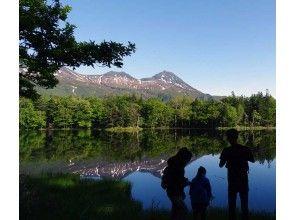 プランの魅力 知床連山を映す湖 の画像