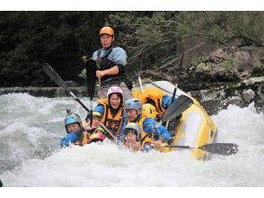 プランの魅力 Most popular! Tokachi River rafting! の画像