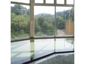 プランの魅力 眼下に白川湖を望む大浴場 の画像