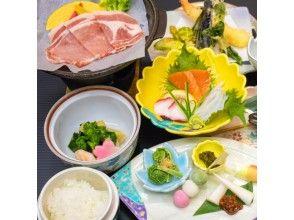 プランの魅力 地物の食材を使った、郷土料理 の画像