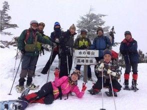 【長野・高峰高原】冬の八ヶ岳・富士山を望む絶景スノーシュー!水ノ塔山スノートレッキングの魅力の説明画像