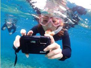 プランの魅力 Underwater camera rental is free! の画像