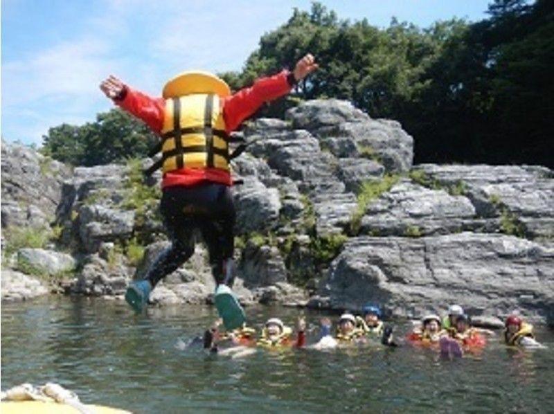 プランの魅力 流れが緩やかなポイントでは泳いじゃいましょう! の画像
