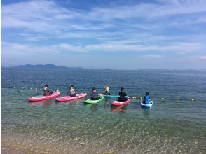 プランの魅力 Lake Biwa SUP yoga experience の画像