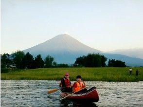 プランの魅力 夕日に染める富士山 の画像