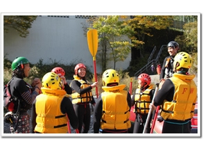 [Tokyo Okutama] clear stream and a spray of water hit the heart! Rafting experience charm of description image of (half-day course)