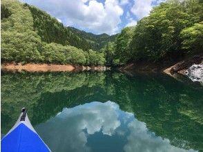 プランの魅力 湖面に反射する景色 の画像