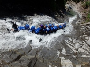 Enjoy nature on the water-Canyoning half-day tour Hanagae course natural waterslide! Charm of description image of