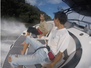 プランの魅力 Acceleration of jet propulsion! Splashing water. の画像