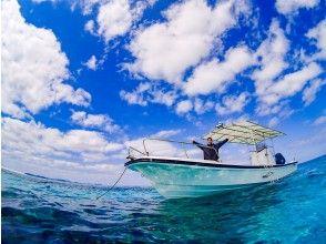 プランの魅力 少人数制の自社ボートでご案内 の画像