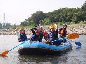 プランの魅力 仲間と楽しむラフティング川下り体験 の画像