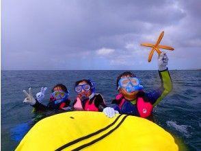 プランの魅力 An exclusive guide will be with you in one group that is safe even for beginners and those who can not swim! の画像