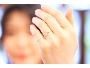 プランの魅力 You can make pinky rings ☆ の画像
