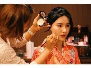 プランの魅力 染发套装的价格为1,000日元(含税),彩妆的价格为3,000日元(含税)! の画像