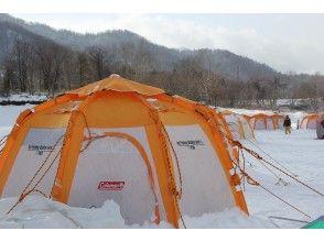 プランの魅力 The inside of the tent is surprisingly warm の画像