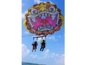 プランの魅力 Shisa parasailing の画像